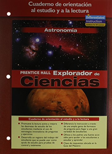 9780131900301: SCIENCE EXPLORER ASTRONOMY SPANISH GUIDED READING AND STUDY WORKBOOK 2005