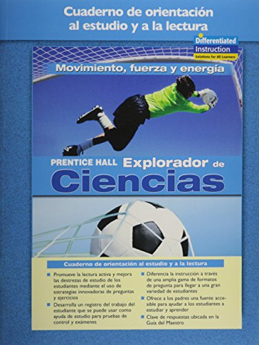 9780131900332: SCIENCE EXPLORER MOTION, FORCES, AND ENERGY SPANISH GUIDED READING AND STUDY WORKBOOK 2005