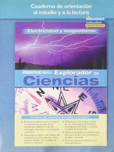 9780131900356: SCIENCE EXPLORER ELECTRICITY AND MAGNETISM SPANISH GUIDED READING AND STUDY WORKBOOK 2005