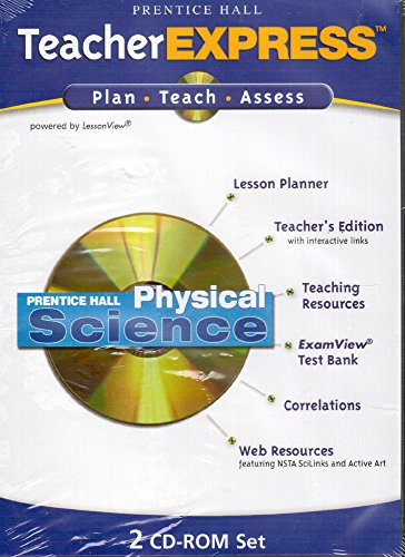 9780131900950: Teacher Express Plan-Teach-Assess (Prentice Hall Physical Science)