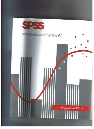 9780131901254: Spss 6.1: Professional Statistics (SPSS for Windows 6.1)