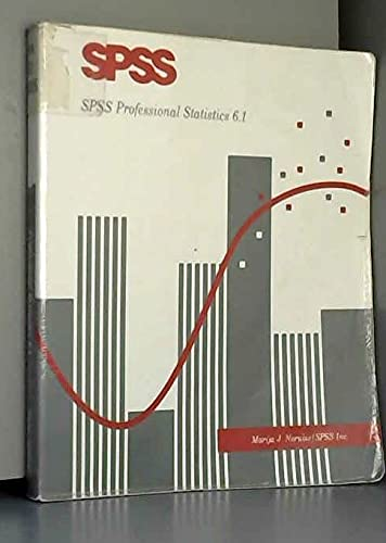9780131901254: SPSS  Professional Statistics, Version 6.1 (SPSS for Windows 6.1)