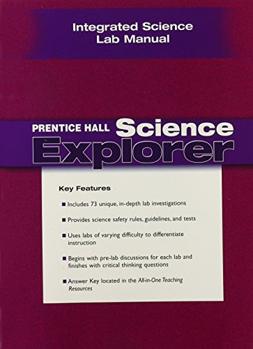 9780131901278: PRENTICE HALL SCIENCE EXPLORER INTEGRATED SCIENCE LAB MANUAL 2005C