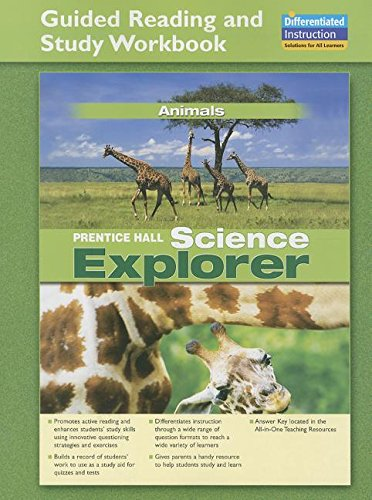 9780131901698: SCIENCE EXPLORER ANIMALS GUIDED READING AND STUDY WORKBOOK 2005C