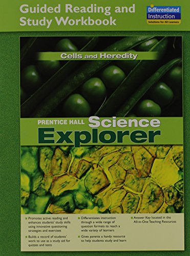 9780131901704: SCIENCE EXPLORER CELLS AND HEREDITY GUIDED READING AND STUDY WORKBOOK 2005C
