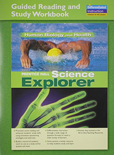 SCIENCE EXPLORER HUMAN BIOLOGY AND HEALTH GUIDED: PRENTICE HALL