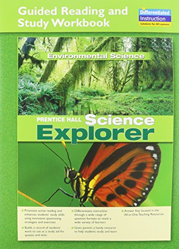 9780131901728: SCIENCE EXPLORER ENVIRONMENTAL SCIENCE GUIDED READING AND STUDY         WORKBOOK 2005C