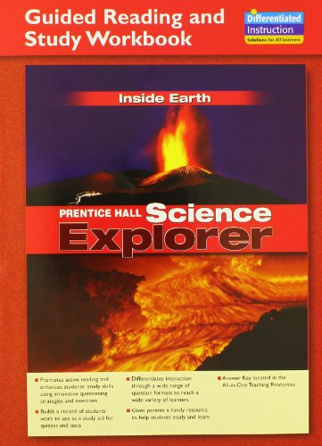 9780131901735: SCIENCE EXPLORER INSIDE EARTH GUIDED READING AND STUDY WORKBOOK 2005C