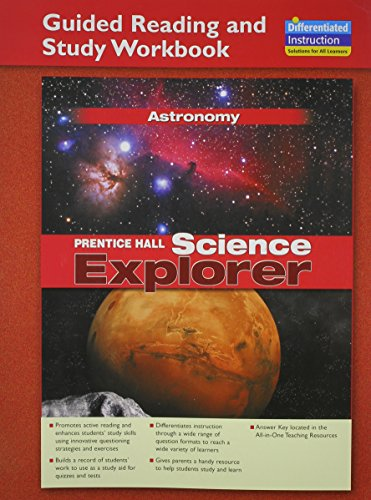 9780131901780: SCIENCE EXPLORER ASTRONOMY GUIDED READING AND STUDY WORKBOOK 2005