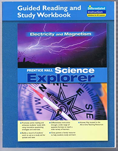 9780131901834: SCIENCE EXPLORER ELECTRICITY AND MAGNETISM GUIDED READING AND STUDY WORKBOOK 2005