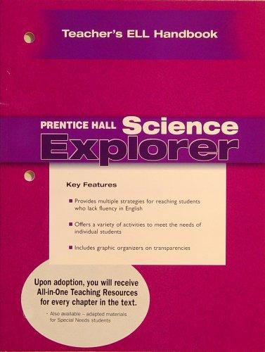 9780131901865: Teacher's ELL Handbook (Prentice Hall Science Explorer)