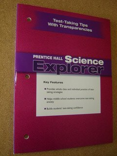 9780131901872: Prentice Hall Science Explorer Test Taking Tips with Transparencies for Middle School