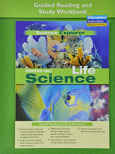 9780131901971: PRENTICE HALL SCIENCE EXPLORER LIFE SCIENCE GUIDED READING AND STUDY WORKBOOK 2005