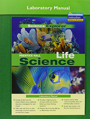 9780131901995: Prentice Hall Science Explorer: Life Science, Laboratory Manual