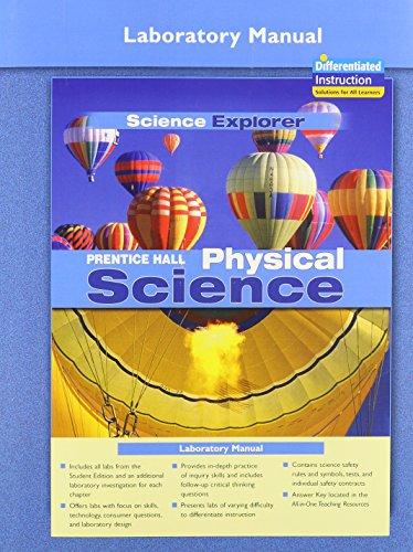 Prentice Hall Science Explorer: Physical Science Laboratory: PRENTICE HALL