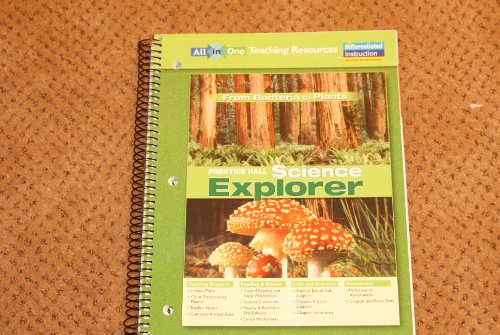 Science Explorer: from Bacteria to Plants All-in-One Teaching Resources: Prentice Hall