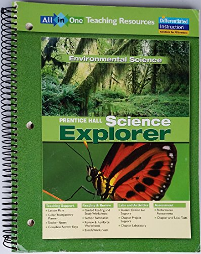 9780131902770: All in One TEACHING RESOURCES Environmental Science (Prentice Hall SCIENCE EXPLORER)