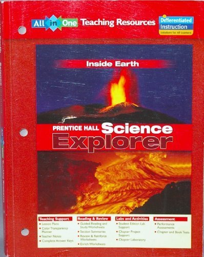 9780131902787: All in One TEACHING RESOURCES Inside Earth (Prentice Hall Science Explorer)