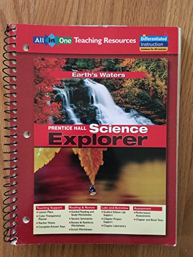Science Explorer: Earth's Waters, All in One: Education, Pearson