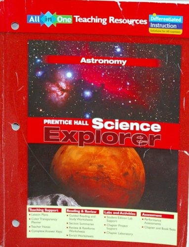 Prentice Hall Science Explorer: Astronomy (all-in-one teaching resources): Pearson Education
