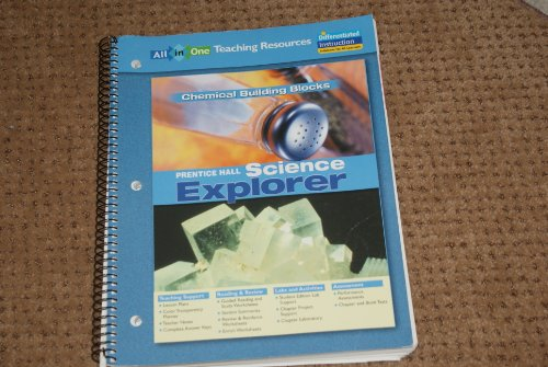 9780131902848: Chemical Building Blocks: All in One Teaching Resources (Prentice Hall Science Explorer)