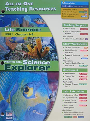 9780131903180: Life Science: All-In-One Teaching Resources (Unit 1 Ch. 1-6)