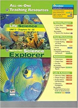 9780131903203: Science Explorer (Life Science Unit 3, Ch. 14-20): All-In-One Teaching Resources