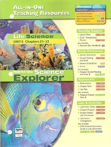 9780131903210: Life Science Unit 4 All-In-One Teaching Resources (Science Explorer)