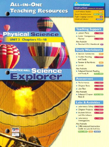 All in One Teaching Resources Physical Science: Education, Pearson