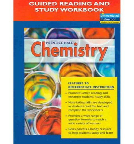 9780131903623 Prentice Hall Chemistry Guided Reading And
