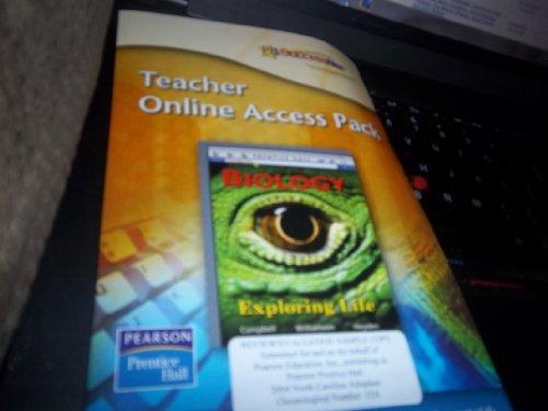9780131904095: Teacher online access pack(Biology Exploring Life)