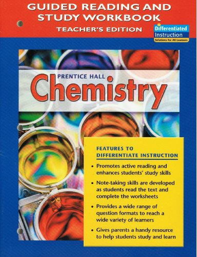 9780131904156: Chemistry - Guided Reading Teacher's Edition