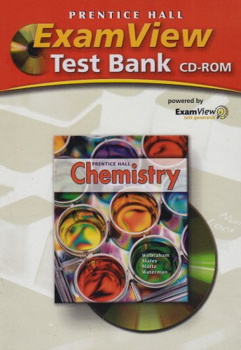 9780131904347: ExamView Test Bank CD-ROM for Prentice Hall Chemistry