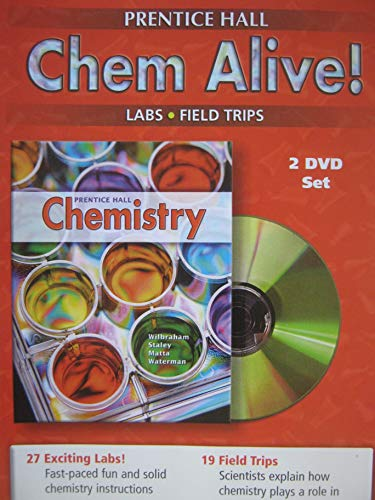9780131904385: CHEMISTRY ALIVE HIGH RISK LABS DVD 2005
