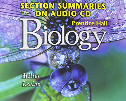 9780131904569: PRENTICE HALL MILLER LEVINE BIOLOGY SECTION SUMMARIES ON CDROM ENGLISH 2004C