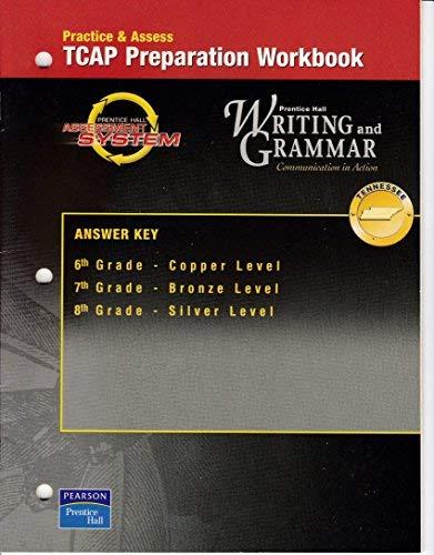 Practice and Assess Tcap Preparation Workbooks Tn: Staff