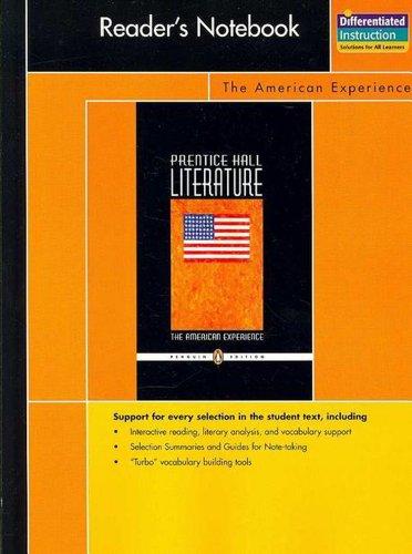 9780131907935: PRENTICE HALL LITERATURE PENGUIN EDITION READERS NOTEBOOK GRADE 11 2007C