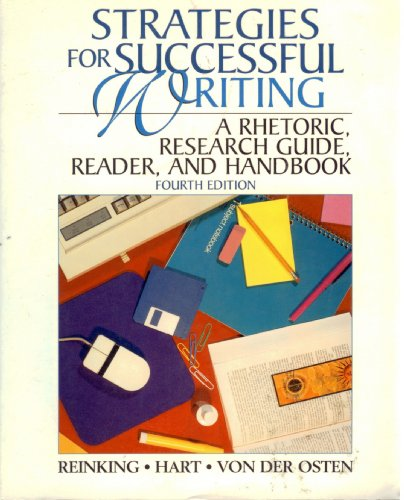 9780131908024: Strategies for Successful Writing: A Rhetoric, Research Guide, Reader, and Handbook