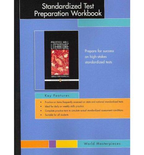 9780131908192: PRENTICE HALL WORLD MASTERPIECES PENGUIN EDITION STANDARDIZED TEST PREPARATION WORKBOOK GRADE 12 2007C