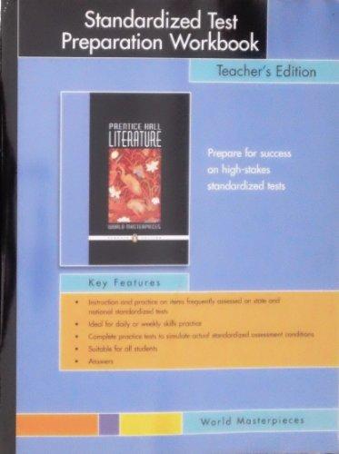 Prentice Hall Literature World Masterpieces Standardized Test