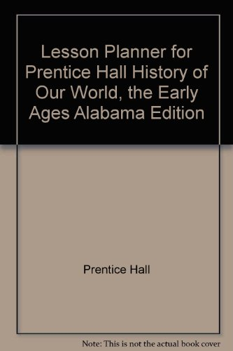 "Lesson Planner for Prentice Hall ""History of"