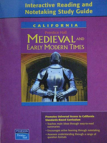 Medieval and Early Modern Times: California: Interactive: interactive