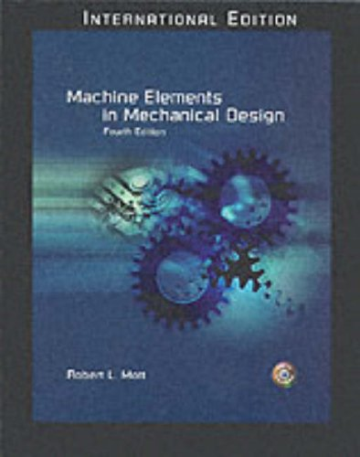 9780131911291: Machine Elements in Mechanical Design: International Edition