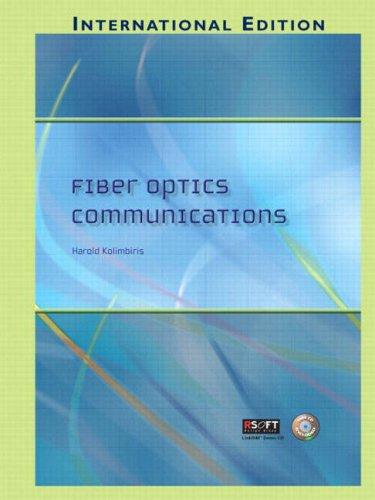 9780131911345: Fiber Optics Communications