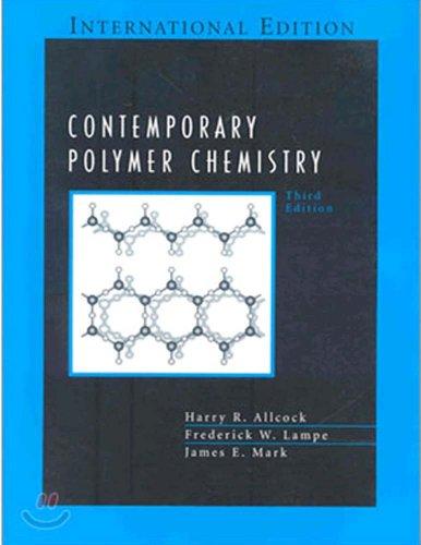 9780131911598: Contemporary Polymer Chemistry