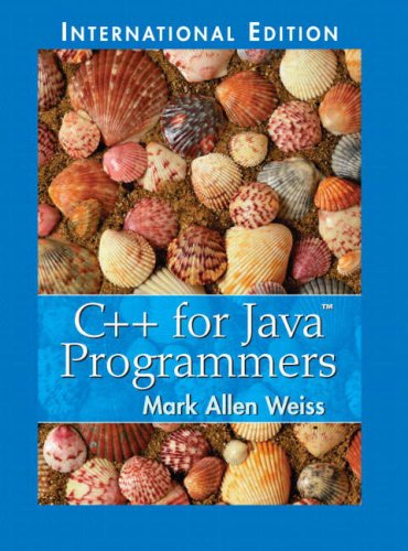 9780131911635: C++ for Java Programmers