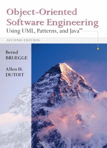 9780131911796: Object-Oriented Software Engineering: Using UML, Patterns and Java: International Edition
