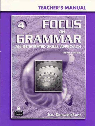 9780131912342: Focus on Grammar: Teacher's Manual and CD-ROM
