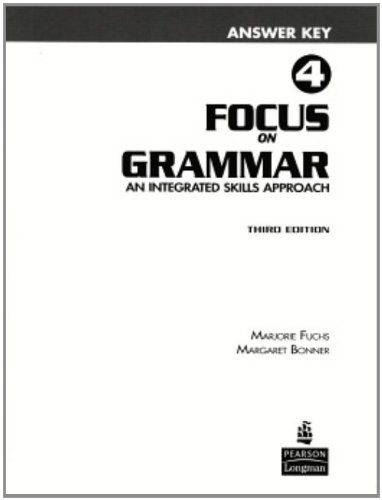 9780131912366: Focus on Grammar 4 Answer Key