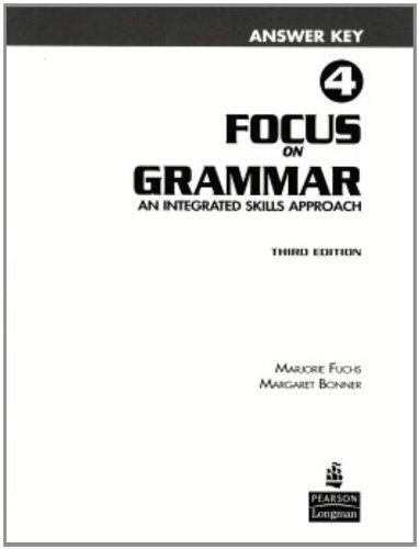 9780131912366: Focus on Grammar 4 Answer Key